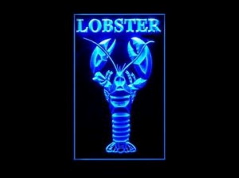 Lobster Live Seafood LED Neon Sign